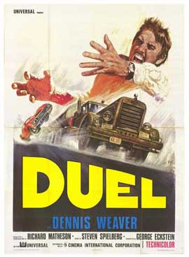 Duel - 27 x 40 Movie Poster - Italian Style B