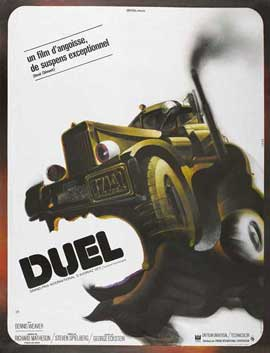 Duel - 27 x 40 Movie Poster - French Style A