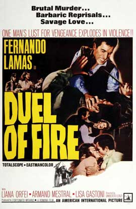 Duel of Fire - 11 x 17 Movie Poster - Style A