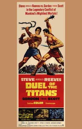 Duel of the Titans - 11 x 17 Movie Poster - Style A