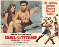 Duel of the Titans - 11 x 14 Movie Poster - Style B