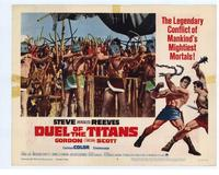 Duel of the Titans - 11 x 14 Movie Poster - Style C