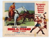Duel of the Titans - 11 x 14 Movie Poster - Style D