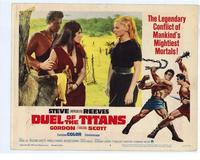 Duel of the Titans - 11 x 14 Movie Poster - Style E