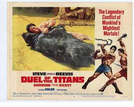 Duel of the Titans - 11 x 14 Movie Poster - Style F