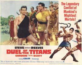 Duel of the Titans - 11 x 14 Movie Poster - Style G