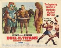 Duel of the Titans - 11 x 14 Movie Poster - Style H