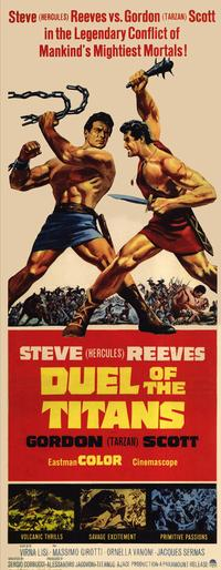 Duel of the Titans - 14 x 36 Movie Poster - Insert Style A