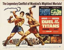 Duel of the Titans - 22 x 28 Movie Poster - Half Sheet Style A