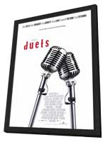 Duets - 11 x 17 Movie Poster - Style A - in Deluxe Wood Frame