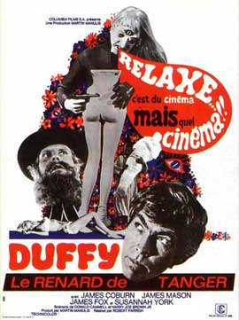 Duffy - 11 x 17 Movie Poster - French Style A