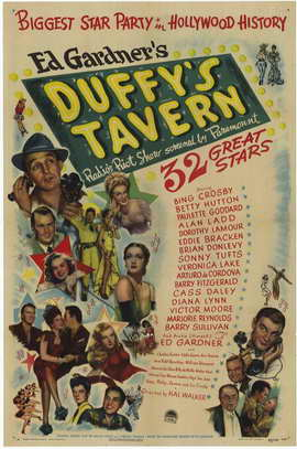Duffy's Tavern - 11 x 17 Movie Poster - Style A