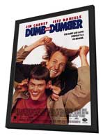 Dumb & Dumber - 11 x 17 Movie Poster - Style C - in Deluxe Wood Frame