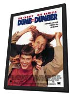 Dumb & Dumber - 27 x 40 Movie Poster - Style C - in Deluxe Wood Frame