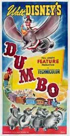 Dumbo - 14 x 36 Movie Poster - Insert Style B