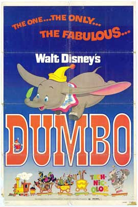 Dumbo - 11 x 17 Movie Poster - Style A