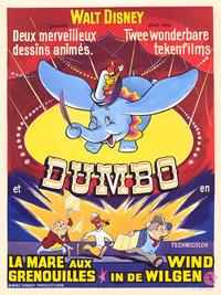 Dumbo - 27 x 40 Movie Poster - Belgian Style A