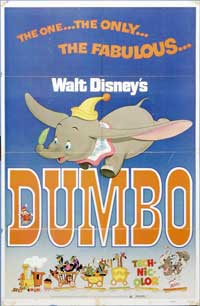 Dumbo - 27 x 40 Movie Poster - Style E