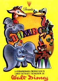 Dumbo - 11 x 17 Movie Poster - Spanish Style B
