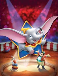 Dumbo - 43 x 62 Movie Poster - Bus Shelter Style B