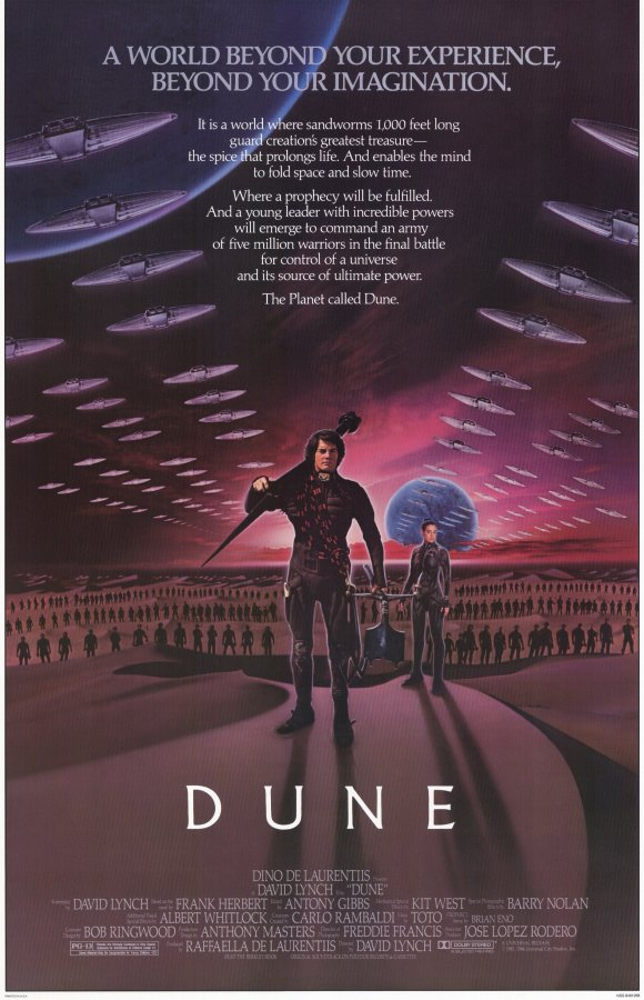 Dune Movie Posters From Movie Poster Shop