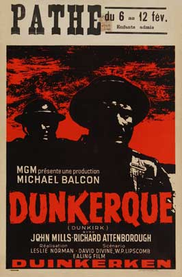 Dunkirk - 27 x 40 Movie Poster - Belgian Style A