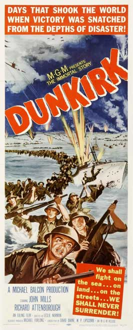 Dunkirk - 22 x 28 Movie Poster - Half Sheet Style A