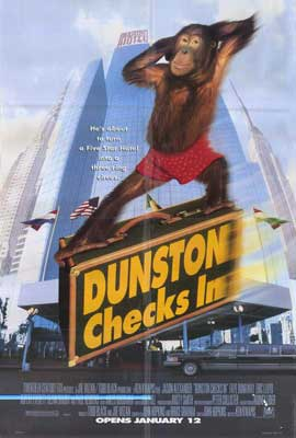 Dunston Checks In - 27 x 40 Movie Poster - Style B