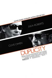 Duplicity - 27 x 40 Movie Poster - Style B