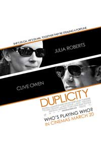 Duplicity - 43 x 62 Movie Poster - UK Style A