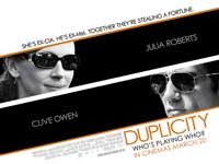 Duplicity - 30 x 40 Movie Poster UK - Style A