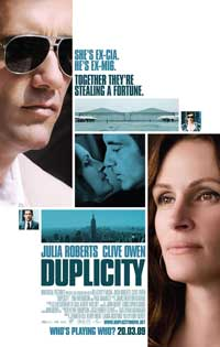 Duplicity - 11 x 17 Movie Poster - Style D