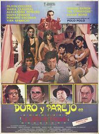 Duro y parejo en la casita de pecado - 27 x 40 Movie Poster - Spanish Style A