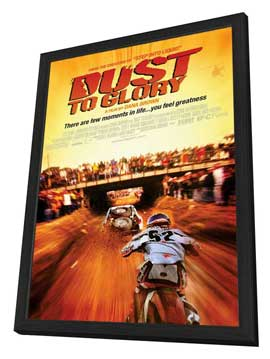 Dust to Glory - 27 x 40 Movie Poster - Style A - in Deluxe Wood Frame