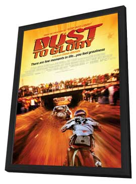 Dust to Glory - 11 x 17 Movie Poster - Style A - in Deluxe Wood Frame