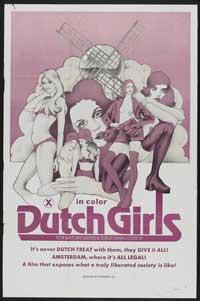 Dutch Girls - 27 x 40 Movie Poster - Style A
