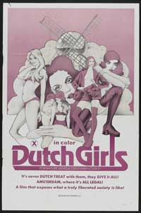 Dutch Girls - 43 x 62 Movie Poster - Bus Shelter Style A
