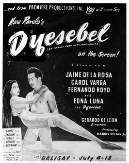 Dyesebel - 11 x 17 Movie Poster - Spanish Style A