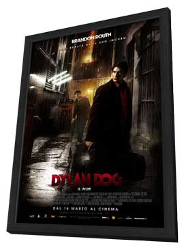 Dylan Dog: Dead of Night - 11 x 17 Movie Poster - Italian Style D - in Deluxe Wood Frame
