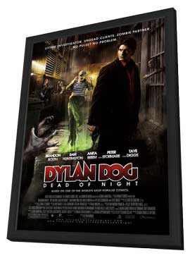 Dylan Dog: Dead of Night - 27 x 40 Movie Poster - Style A - in Deluxe Wood Frame