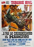 E poi lo chiamarono il magnifico - 27 x 40 Movie Poster - Italian Style A