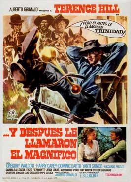 E poi lo chiamarono il magnifico - 11 x 17 Movie Poster - Spanish Style A