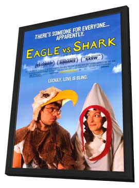 Eagle vs Shark - 27 x 40 Movie Poster - Style A - in Deluxe Wood Frame