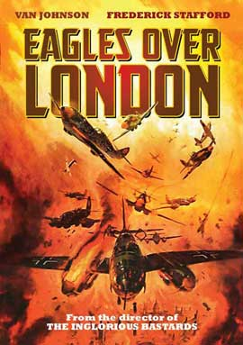 Eagles Over London - 27 x 40 Movie Poster - Style B