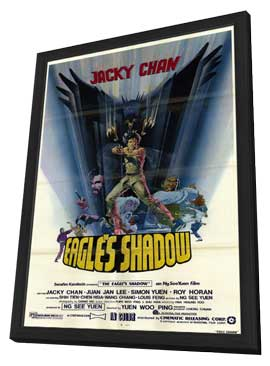 Eagles Shadow - 11 x 17 Movie Poster - Style A - in Deluxe Wood Frame