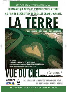 Earth from Above - 11 x 17 Movie Poster - French Style A