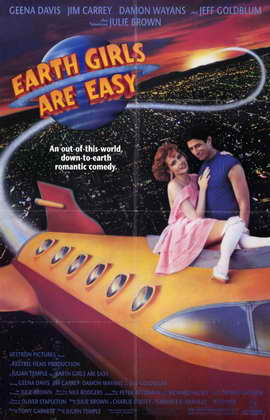 Earth Girls Are Easy - 11 x 17 Movie Poster - Style A