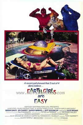 Earth Girls Are Easy - 11 x 17 Movie Poster - Style B