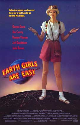 Earth Girls Are Easy - 11 x 17 Movie Poster - Style C