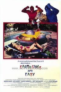 Earth Girls Are Easy - 27 x 40 Movie Poster - Style B